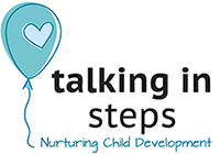 logo for Talking in Steps Speech Therapy Clinic for Children